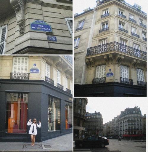 Rue de Grènelle (Paris)- La elegancia del erizo.